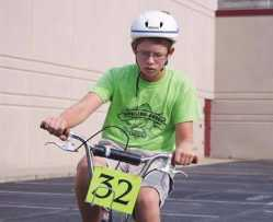 Brazil Times: Local News: 4-H\'ers take part in Bicycle Rodeo (balance of clay county