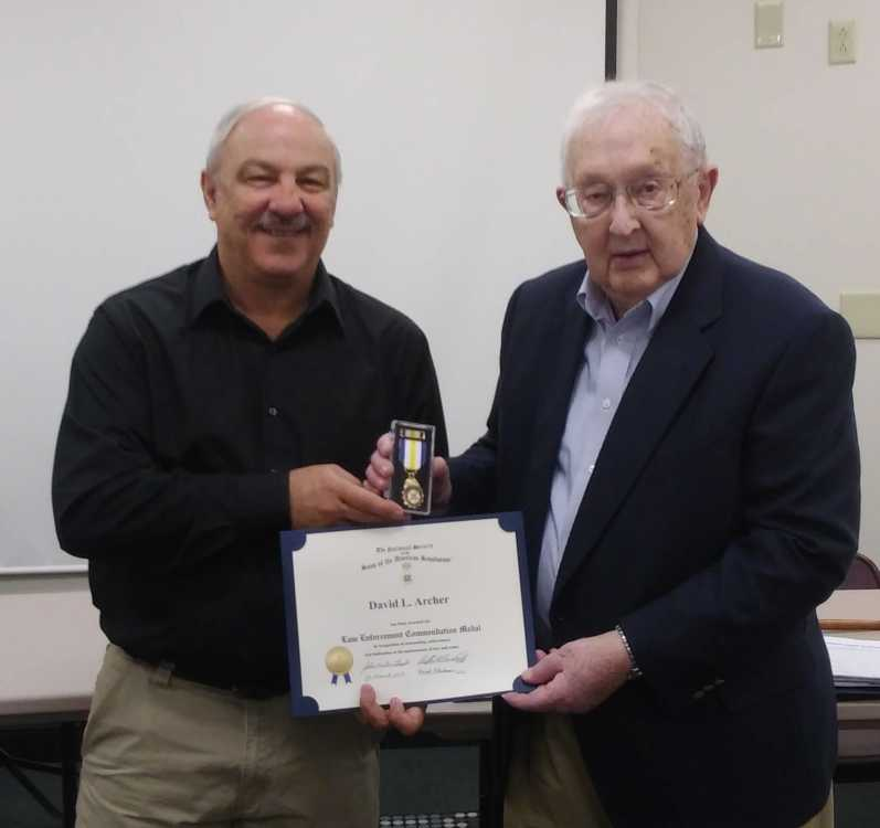 Archer honored by Sons of the American Revolution, new inductees