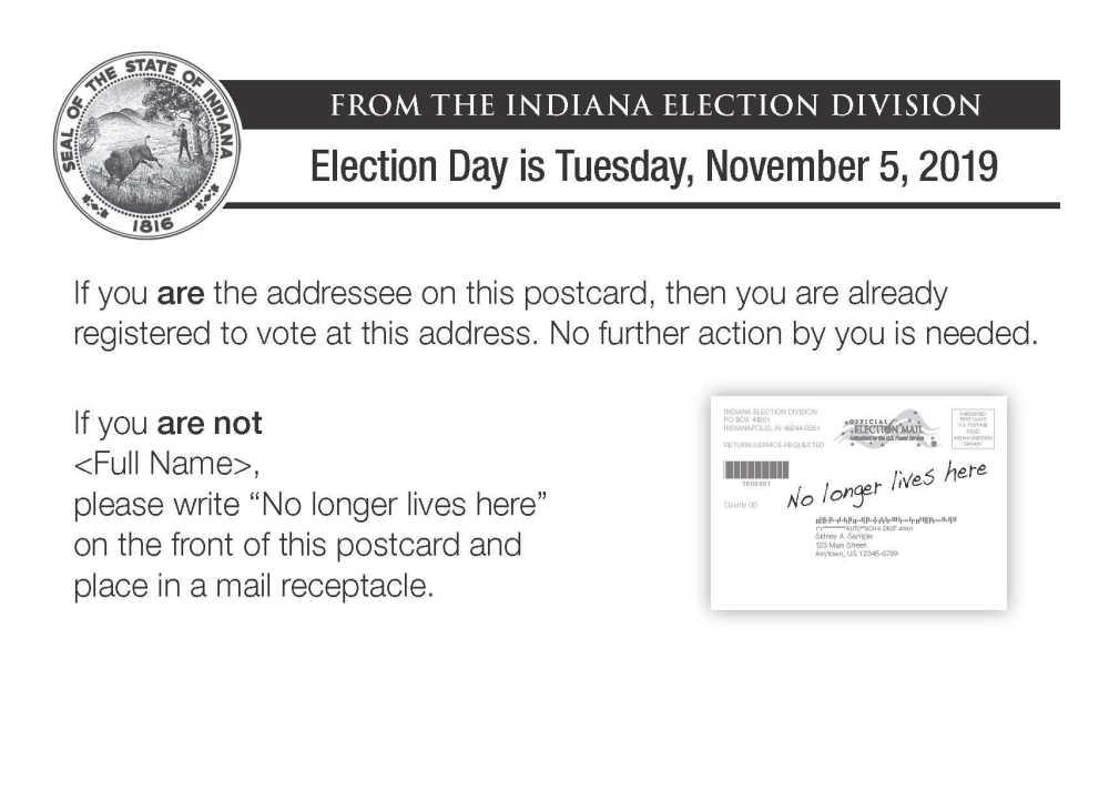 State starts Voter List Maintenance