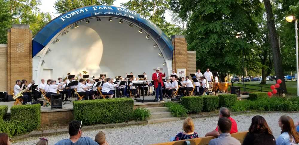 Brazil Concert Band celebrates 100 years in Forest Park