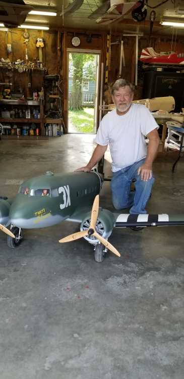 Brazil's Schurick commemorates D-Day with flying model
