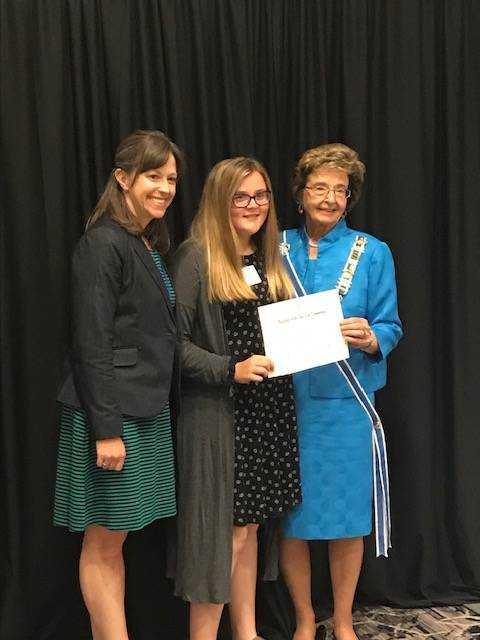 Clay City girl wins American Revolution essay contest