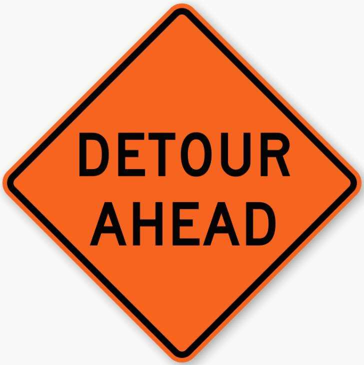 Three detours coming to local roads