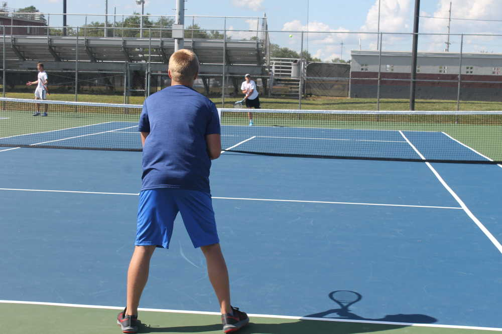 Northview boys tennis set lofty goals to win WIC, sectional