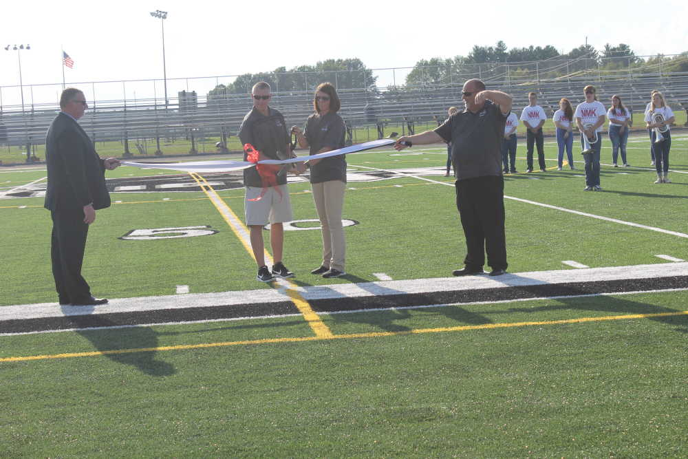 Northview unveils new turf field