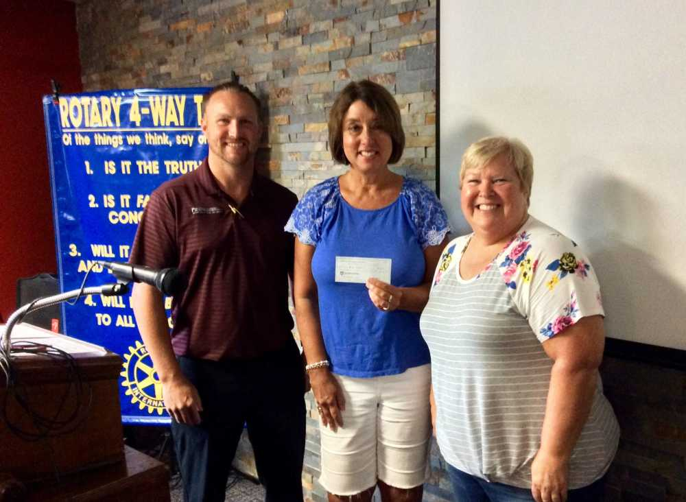 Rotary donates $400 to Open Hands Preschool