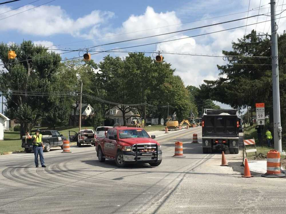 Portion of US 40 closed due to gas leak