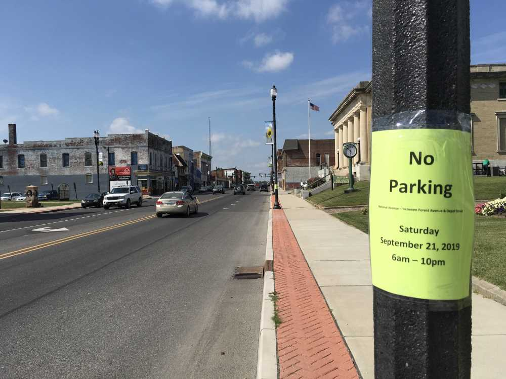 No parking allowed during Route 40 Fest