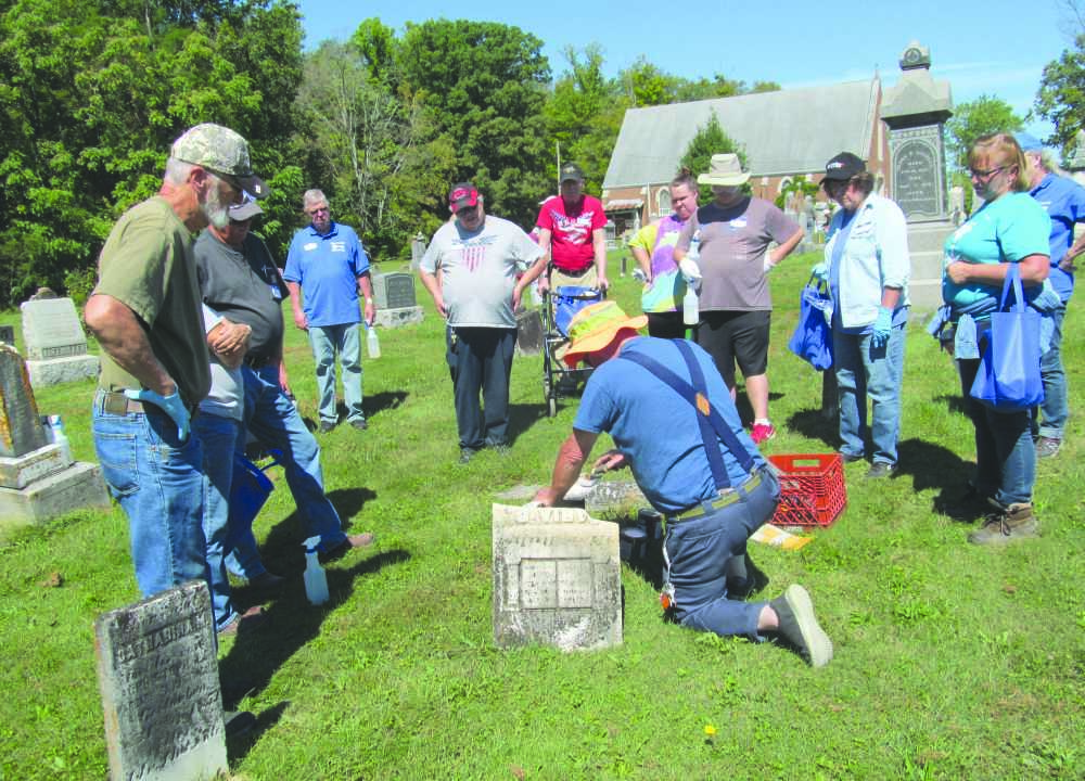 Clay County Genealogy Cemetery Restoration Workshop presented by the DNR