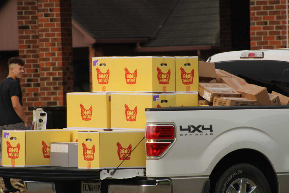 Federal government food giveaway set Saturday at First Christian Church