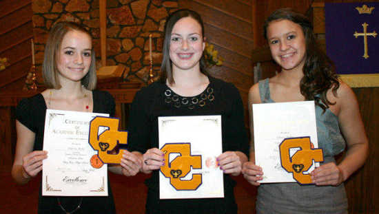 Local News: Clay City Academic Letter Banquet (3/18/11) | Brazil Times