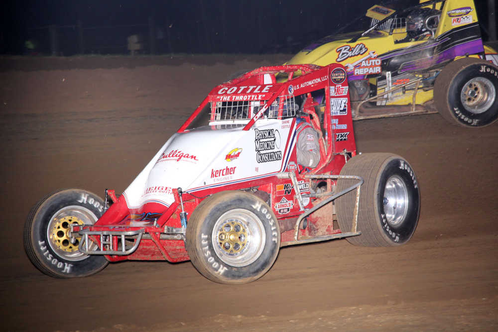 Professional Sports: Shane Cottle wins the sprint car