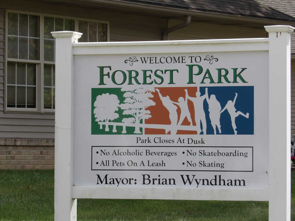 Meeting called in August to discuss splash pad at Forest Park
