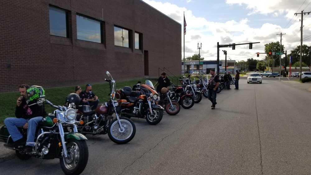 Local veterans ride their bikes to help others